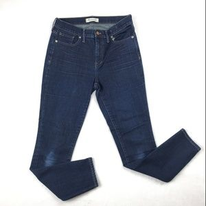 """MADEWELL Womens 9"""" High Rise Skinny Jeans Stretch"""